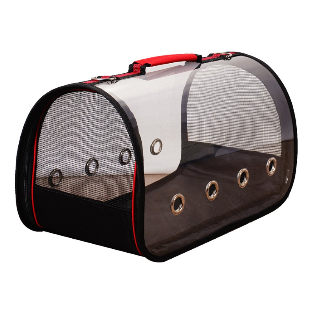 Red Large Red Large JXJL Pet Luxury Soft-Sided Cat Carrier Pet Travel Portable Kennel For, Cats, Small Dogs And Puppies,Red-L