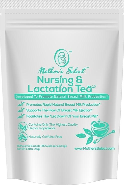 Té para la lactancia y la crianza de Mothers Select para