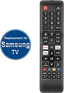 Gvirtue BN59-01315A BN59-01315D Replacement for Samsung Remote Control and Smart 4K Ultra UHD Curved Series 8/7/ 6 TV HDTV LED, UN 32/40/ 43/50/ 55/58/ 65/75 inch N/NU/RU Series 5300 6900 710D