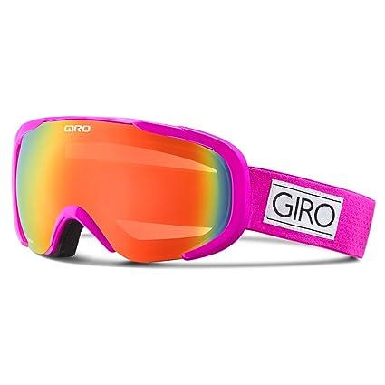6ae4275bde3 Giro Snow GSG3011 Women Field Googles ( Frame  Magenta Mini Dots Lens   Persimmon