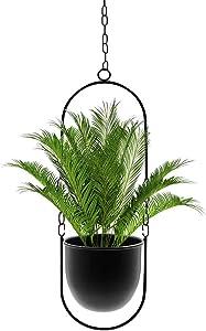 Hoobbii Hanging Planter-Metal Plant Hanger, Simple Modern Planter, Hanging Planters for Indoor Plants, Home Decoration Hanging Flower Pot