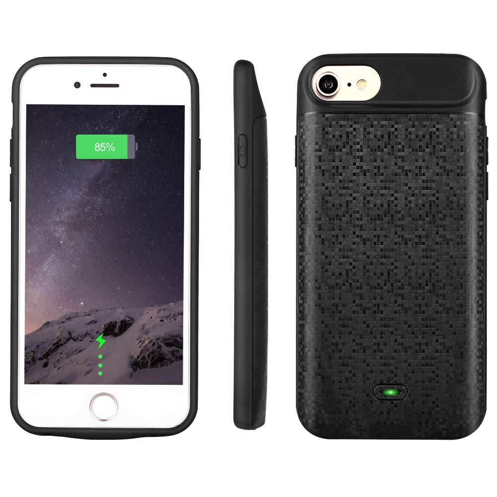 Mbuynow iPhone charger case battery case for iphone 678 2500 mah 4.7 inch Slim external charger case rechargeable portable iphone battery case
