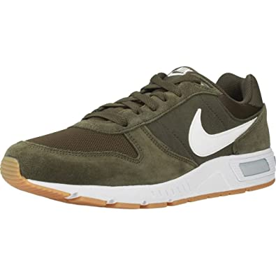 Mens Nightgazer Gymnastics Shoes, Green (Clay Green/Gum Light Brown/White 303), 6 UK 40 EU Nike