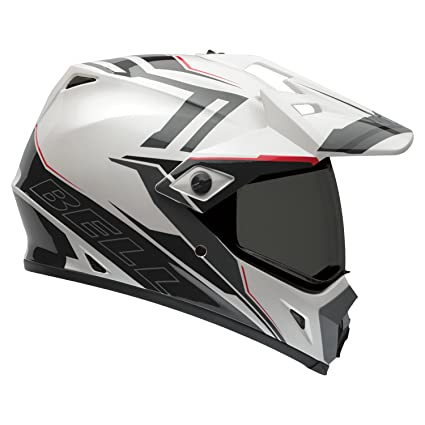 Bell Helmets MX 2015 MX-9 Hi-Visibility Adventure Casco Adulto, color Barricade Blanco, talla XS
