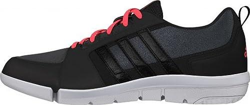 adidas Mardea - Zapatillas de Cross Training para Mujer, Color Negro/Rosa / Blanco