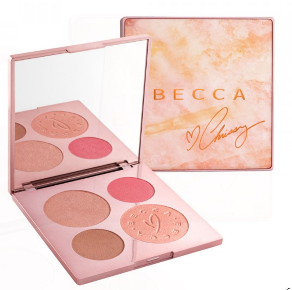 Becca X Chrissy Teigen Glow Face Palette