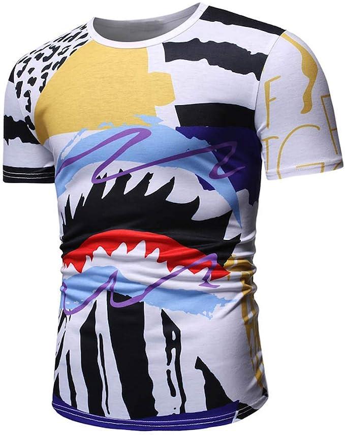 Camisetas Divertidas de Verano Tops para Hombres, Boca Grande ...
