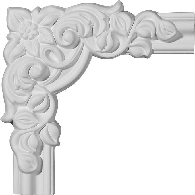 Ekena Millwork PML10X10FO Foster Running Coin Panel Molding Corner 10 1//4 X 10 1//4
