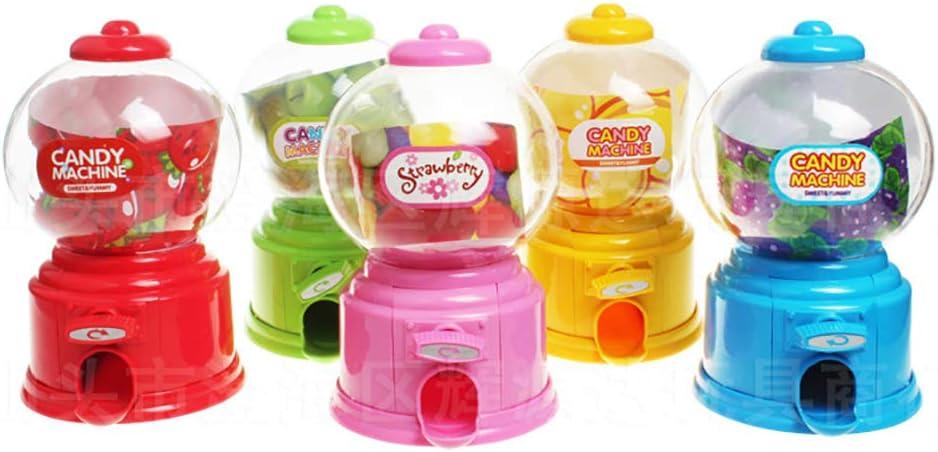 Rouge Xiton Mini Candy Machine Tirelire Bubble Snack Creative Gumball Coin Bo/îte de Rangement pour Jouets Kid 1PC