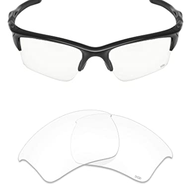 99edecb8c5 Mryok+ Polarized Replacement Lenses for Oakley Half Jacket 2.0 XL - HD Clear
