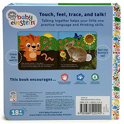 Baby Einstein Backyard All Year Touch and Feel Board Book
