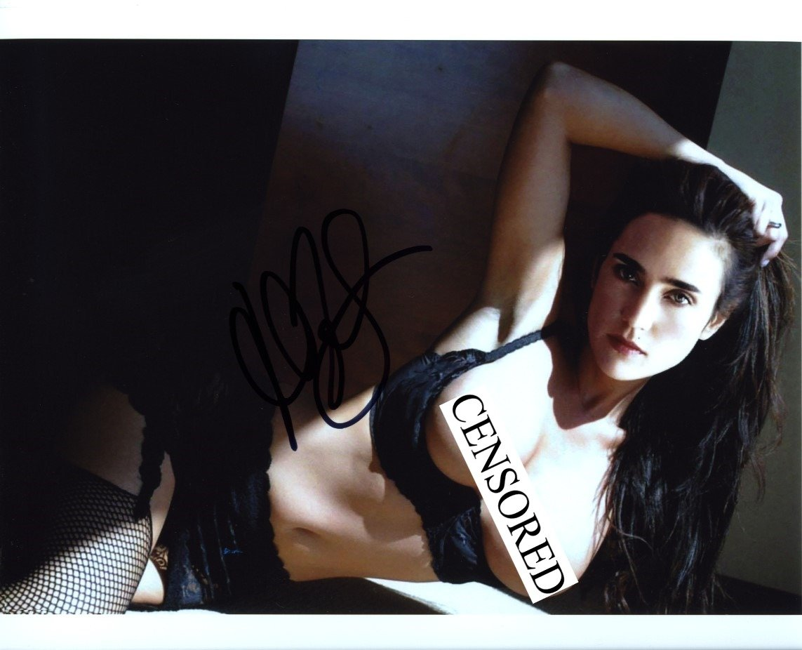 Jennifer Connelly Topless Autographed Signed 8x10 Photo Certified Authentic  COA at Amazon's Entertainment Collectibles Store