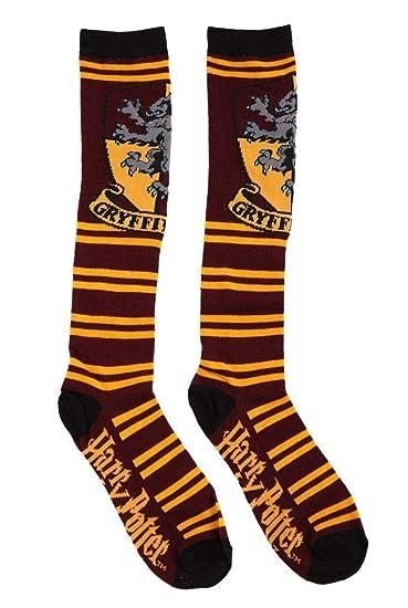 Harry Potter Gryffindor Striped Knee High Socks
