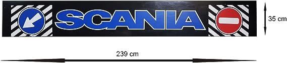 Stark Und Flexibel Heck Gummi Schmutzfänger Schmutzfängerleiste Spritzschutz Lkw Kfz Truck Trucker Anhänger 239 X 35 Cm Auto