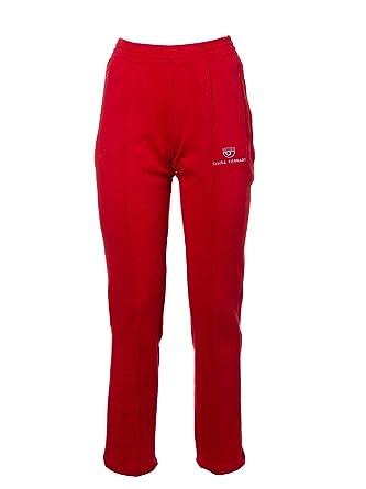 sito affidabile b36e4 c9b7d CHIARA FERRAGNI Pantaloni Donna CFP009RED Cotone Rosso ...