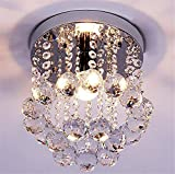 LUCKY CLOVER-A Modern Crystal and Glass Ceiling Light Elegant Chandelier Fashion Creative Pendant Light , l