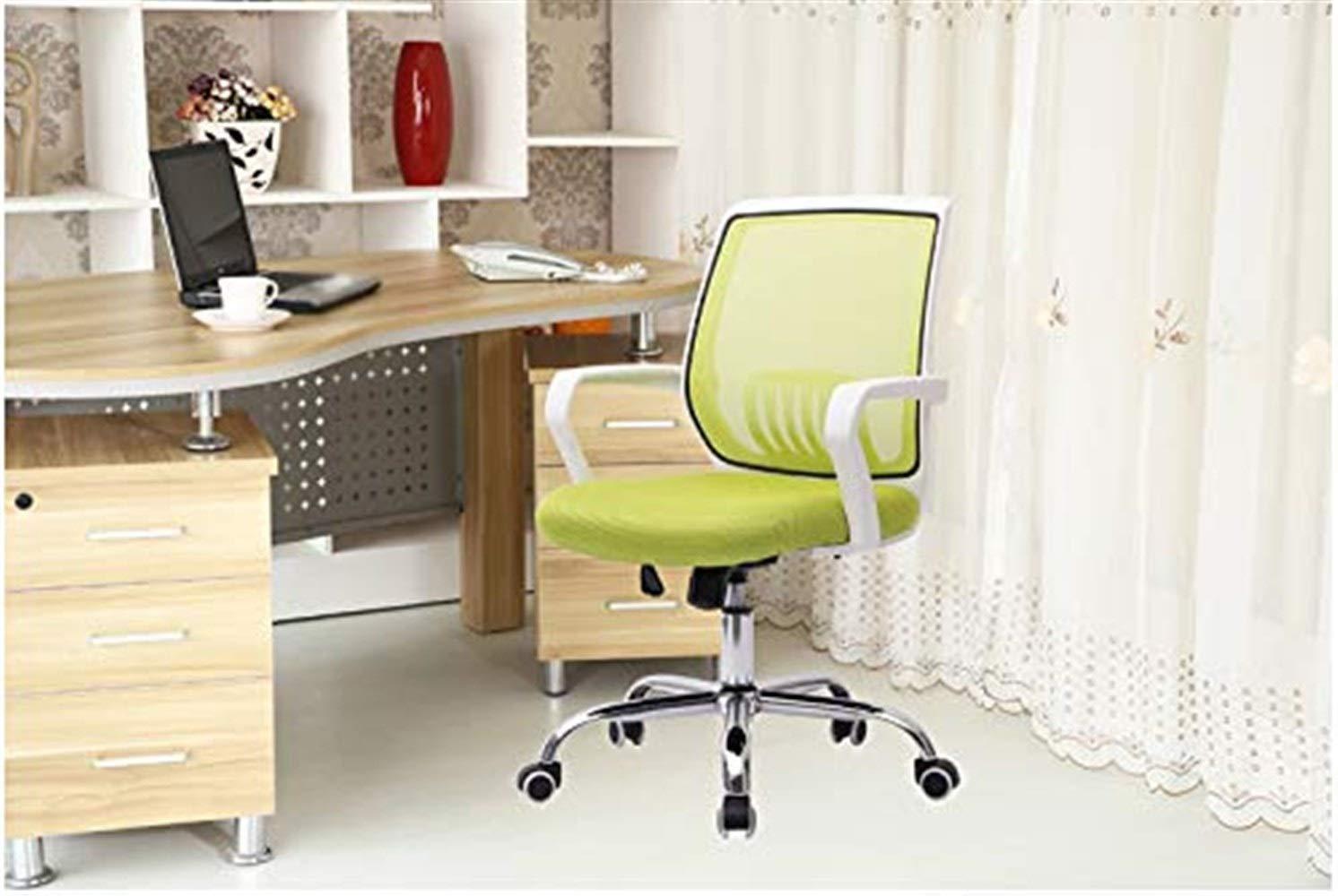 Kontorsstol personalstol mottagningsstol svängbar stol hushåll datorstol lärande stol GMING (färg: Lila) BLÅ