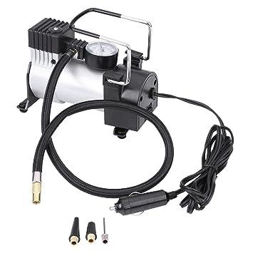 Inflador del neumático del coche - compresor de aire auto del neumático de 12V 100PSI: Amazon.es: Coche y moto
