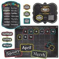 Creative Teaching Press Chalk It Up! Calendar Set Bulletin Board (4728)