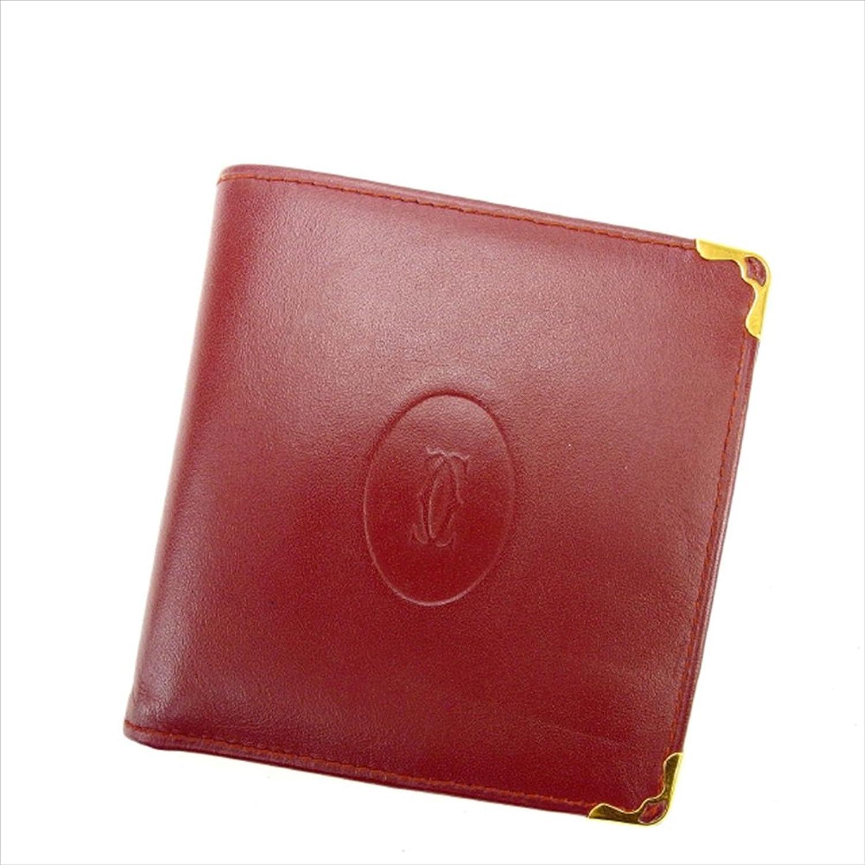 カルティエ Cartier 二つ折り財布 ユニセックス マストライン 中古 Y1689 B0772TXGF2