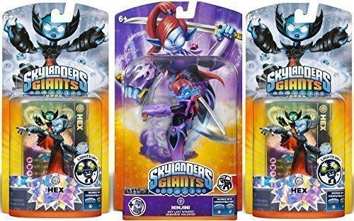 Skylanders Giants: Ninjini Giant Character and Receive 2 Lightcore Figures - Skylander Trap Tuff Luck