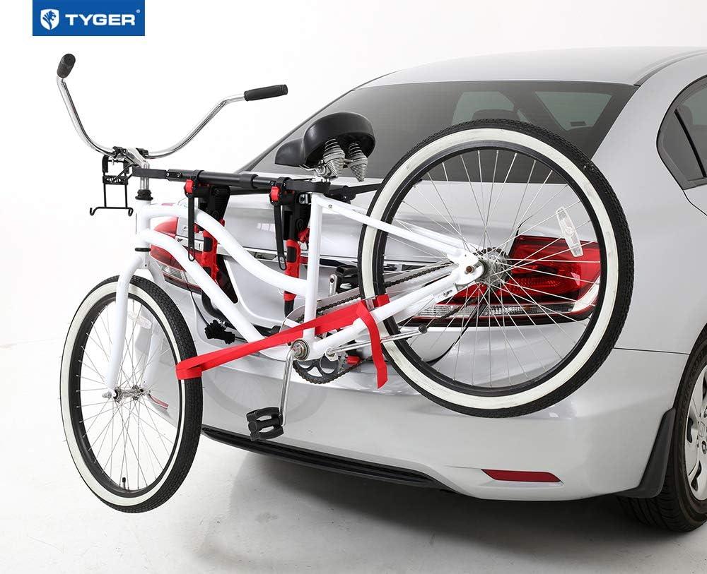 Tyger Auto TG-RK1B108B Deluxe Bike Top Frame Cross Bar Bicycle Telescopic Adaptor