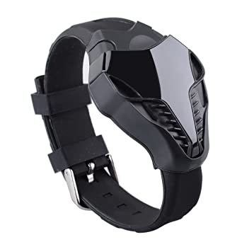 Review Men's Fashion Cool Cobras Style LED Watch Wrist Watch Digital Watch