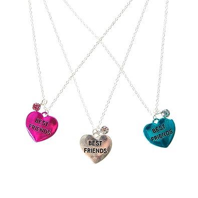 vente à bas prix meilleure vente profiter du prix de liquidation Claire's Fille-Lot de 3 colliers d'amitié Best Friend ...