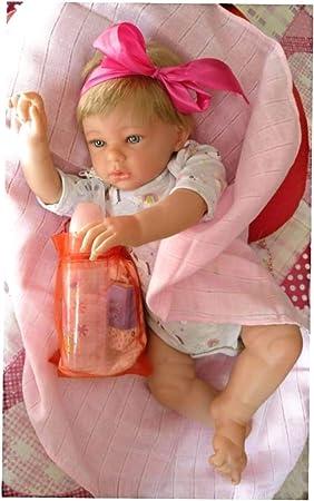 Amazon.es: Muñecas Reborn Hechas en España Newborns babyborns muñecos realistas bebés reborns Silicona fabricación española bebé Reborn: Juguetes y juegos
