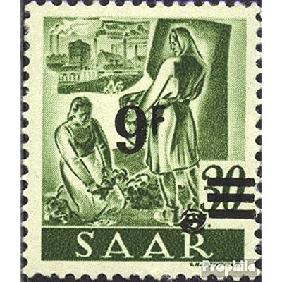 Sarre 234II testés 1947 Professions et Vues (Timbres pour les collectionneurs)