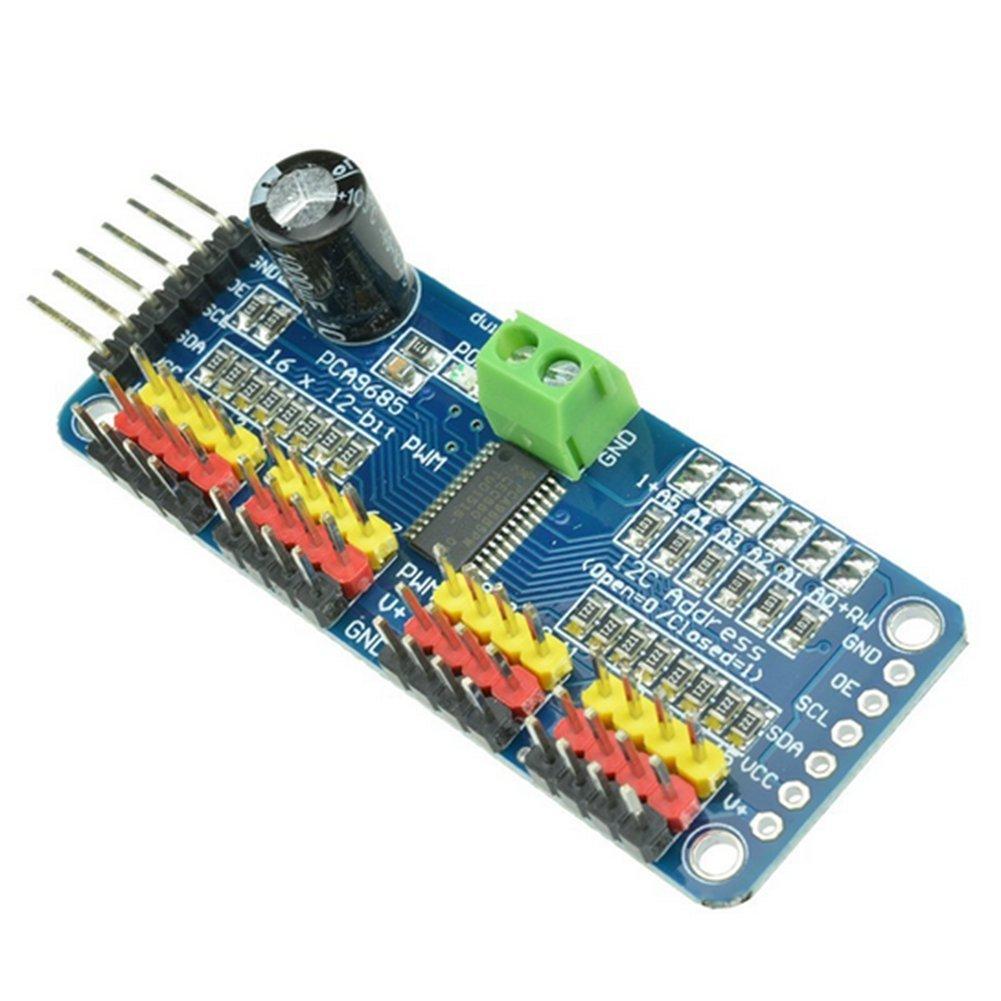 Haodou Arduino Nano V3.0 AVR ATMEGA328P Modul-Brett 16MHz USB zu TTL 5V Blau