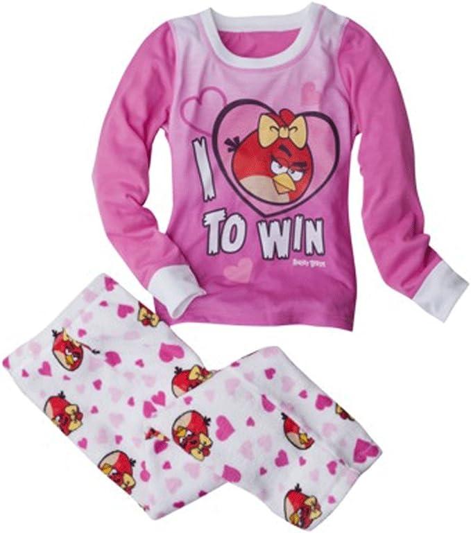 Angry Birds Girls 2pc Pajamas I Love to Win