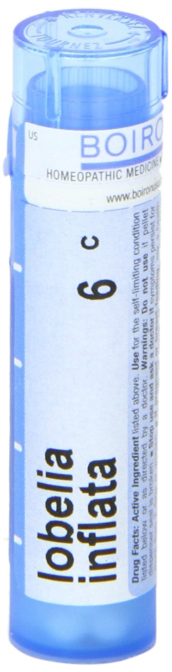 Boiron Lobelia Inflata 6C (Pack of 5), Homeopathic Medicine for Quitting Smoking by Boiron (Image #4)