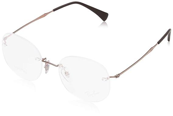 b30c821b2042f Amazon.com  Eyeglasses Ray-Ban Optical RX 8747 1131 LIGHT BROWN ...