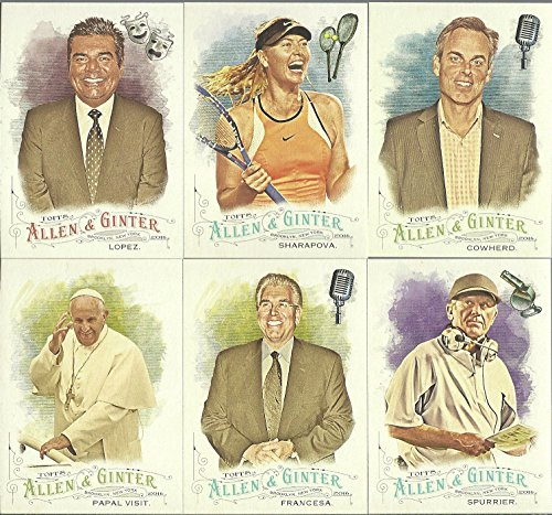 2016 Topps Allen & Ginter Non Baseball Celebrity Complete Set (Celebrity Card)