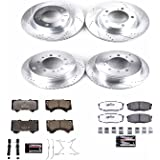 Power Stop K2813-36 Front & Rear Z36 Truck and Tow Brake Kit