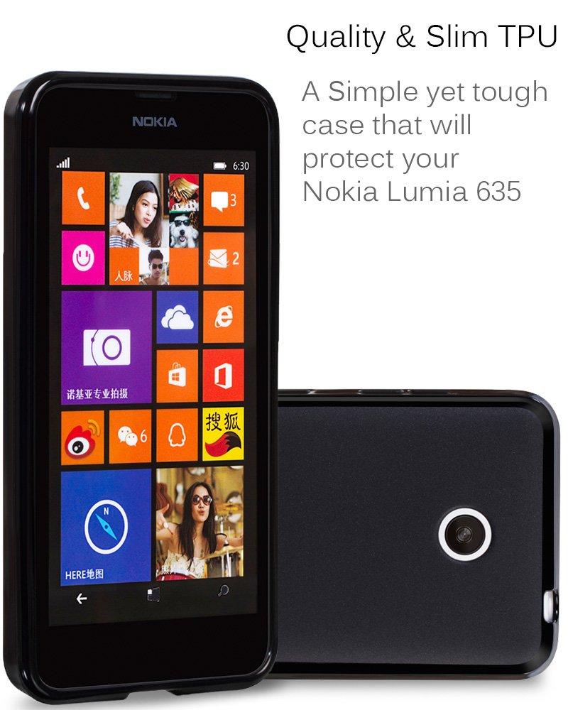 Amazon.com: Fosmon Technology – Nokia Lumia 635 – Carcasa ...