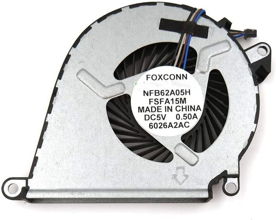 CPU Fan New Laptop CPU Cooling Fan Replacement for HP Omen 15-AX010CA 15-AX013DX 15-AX020CA 15-AX023DX 15-AX033DX 15-AX039NR 15-AX043DX 15T-AX000 Accessories.