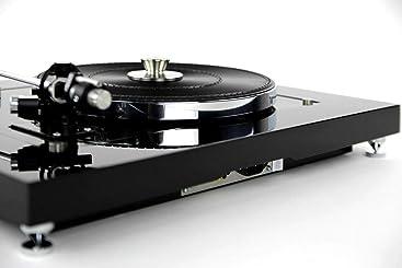 Restaurado & Modificado Thorens Td 160 Tocadiscos Carbono Óptica ...
