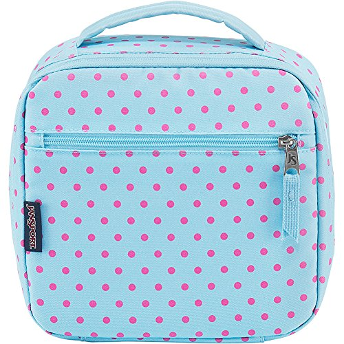 JanSport Lunch Break (Blue Topaz / Lipstick Kiss Dot-O-Rama)