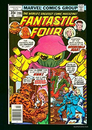 Fantastic Four #196 NM+ 9.6