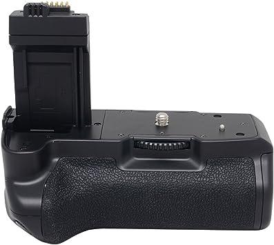 Amazon.com: Mcoplus agarre vertical de batería para Canon ...
