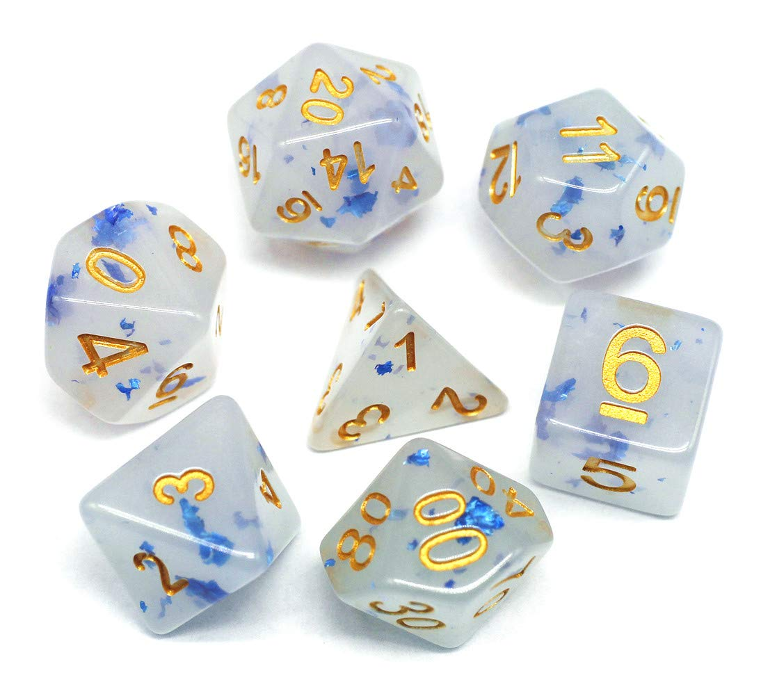 Role Playing Game RPG MTG Pathfinder Table Game Dice D/&D Cusdie olyhedral Dice Sets DND Four Seasons Dice for Dungeons and Dragons