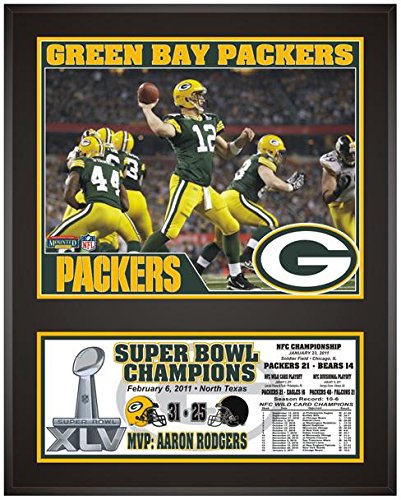 Packers Bay Green Photograph - Green Bay Packers Super Bowl XLV Champions Sublimated 12