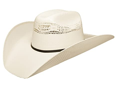 583c2b7ec Stetson Mens 7X Ringer Straw Cowboy Hat Large Natural at Amazon ...