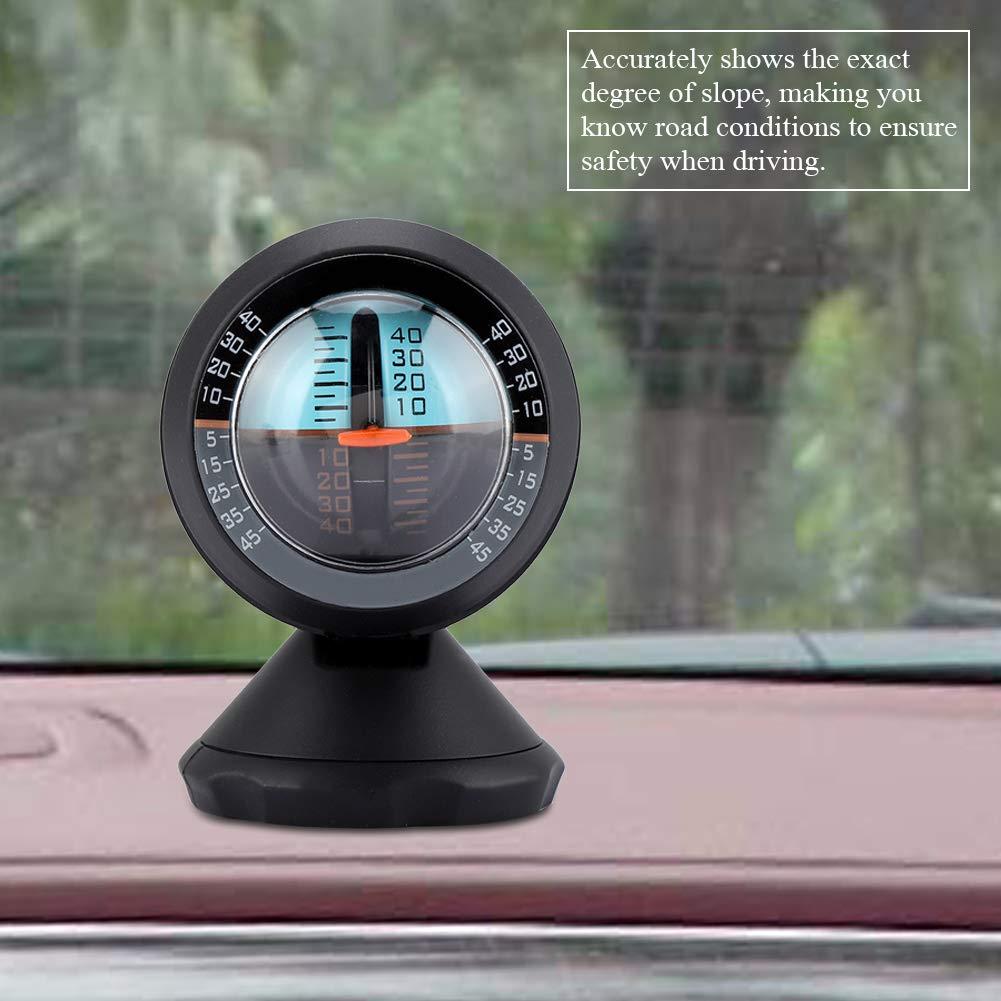 Auto Fahrzeug Neigungsmesser Neigungs ndikator Meter Neigungs Messger/ät Stra/ßen Sicherheits Instrument