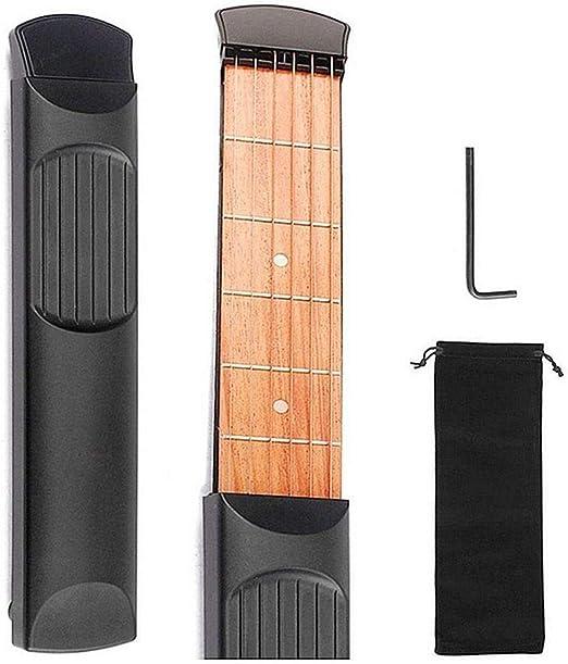 FOONEE Guitarra para Principiantes, Guitarra de Bolsillo Portátil ...