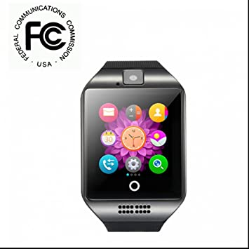 Smartwatch Bluetooth Reloj Inteligente Reloj Deportivo con Contador de Calorias/ Monitor de Sueño/ Contador