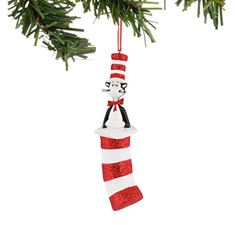 "Department 56 Dr. Seuss ""Cat in Hat"" Christmas Ornament ... - Amazon.com: Department 56 Dr. Seuss"