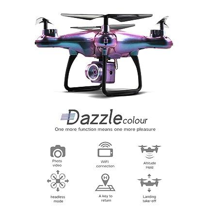 Schimer RC - Dron cuadricóptero teledirigido (20 Minutos, batería ...